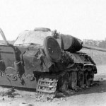 destroyed Panther Ausf D Kharkov August 1943