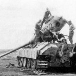 destroyed Panther Ausf D number 312 Kursk