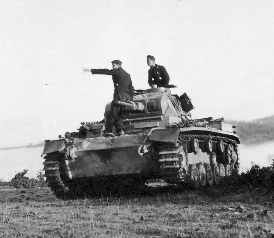 German medium tank Panzer III