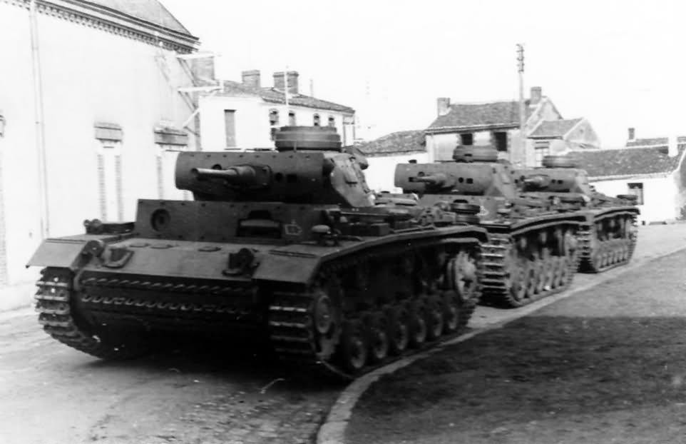 Panzer 3 Ausf.J early tanks