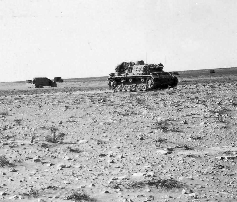 Panzer 3 DAK Afrika korps photo