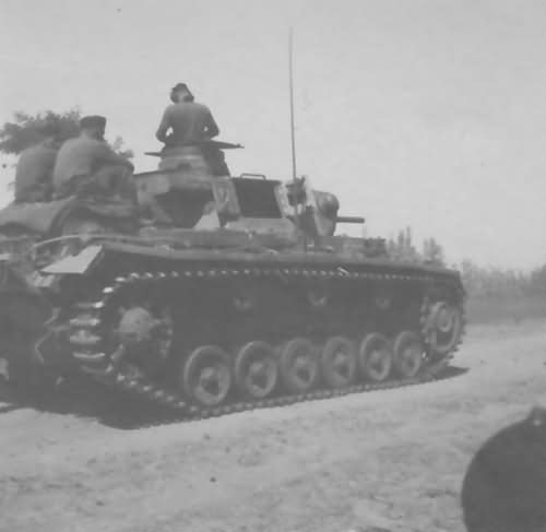 Panzer 3 Russia east front 1941