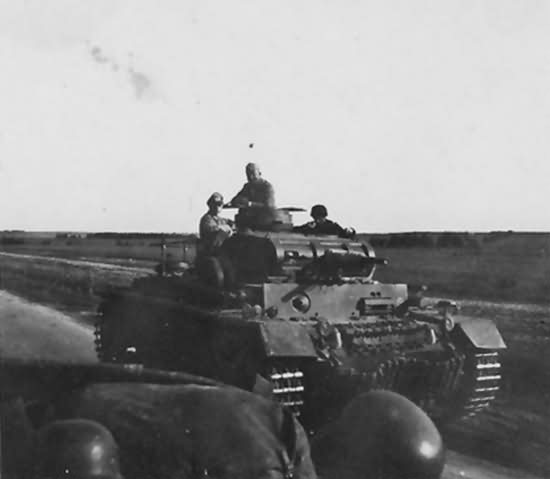 Panzer 3 Russia east front 1941 front
