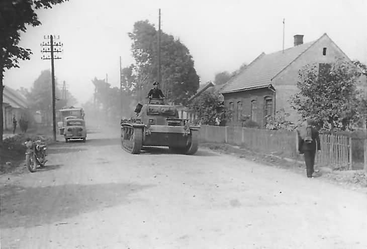 Panzer 3 Sandomierz Poland 1939