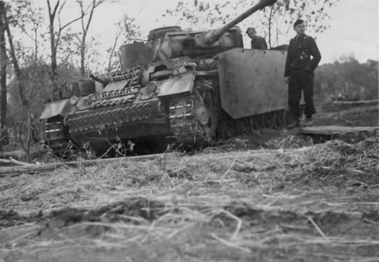 Panzer 3 ausf M schurzen