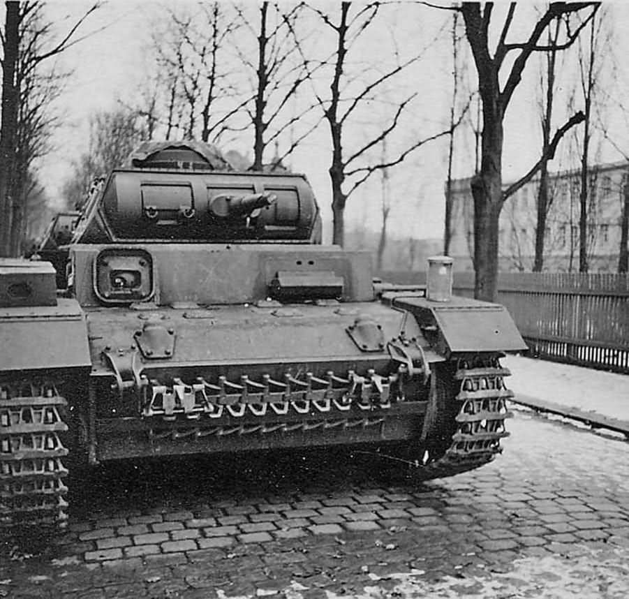 Panzer 3 front