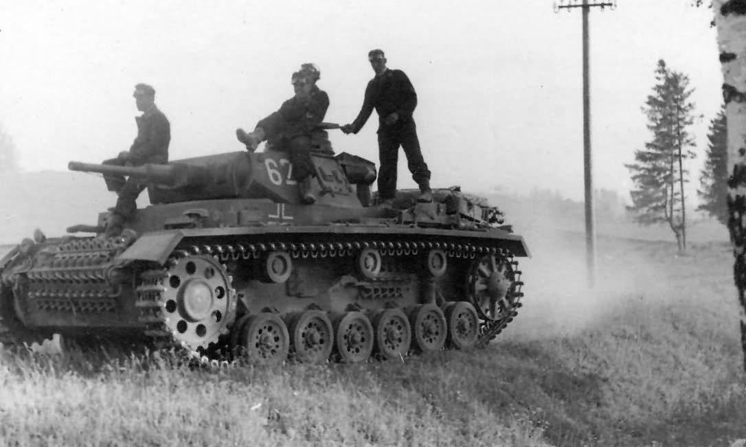 Panzer 3 tank 60