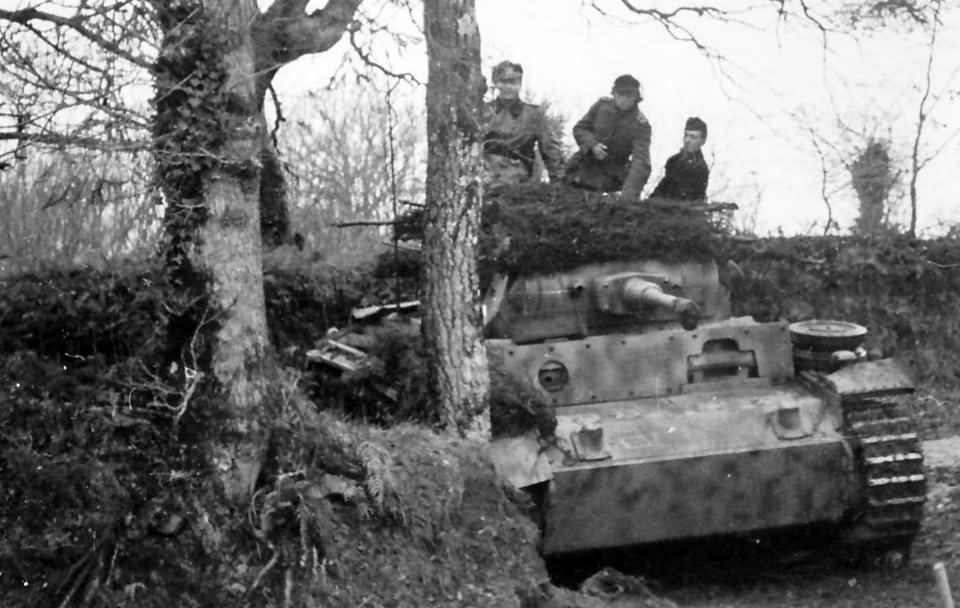 Panzer 3 tank camouflage