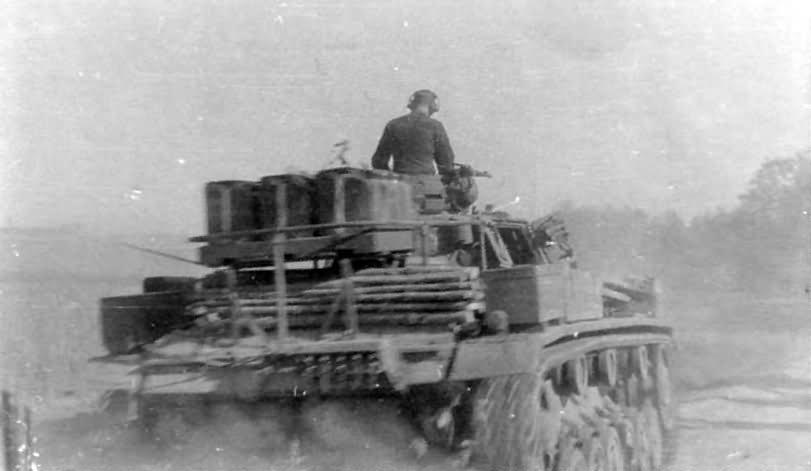 Panzer 3 tank rear