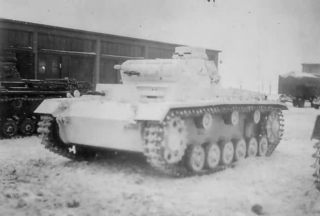 Panzer III 1943 ostfront