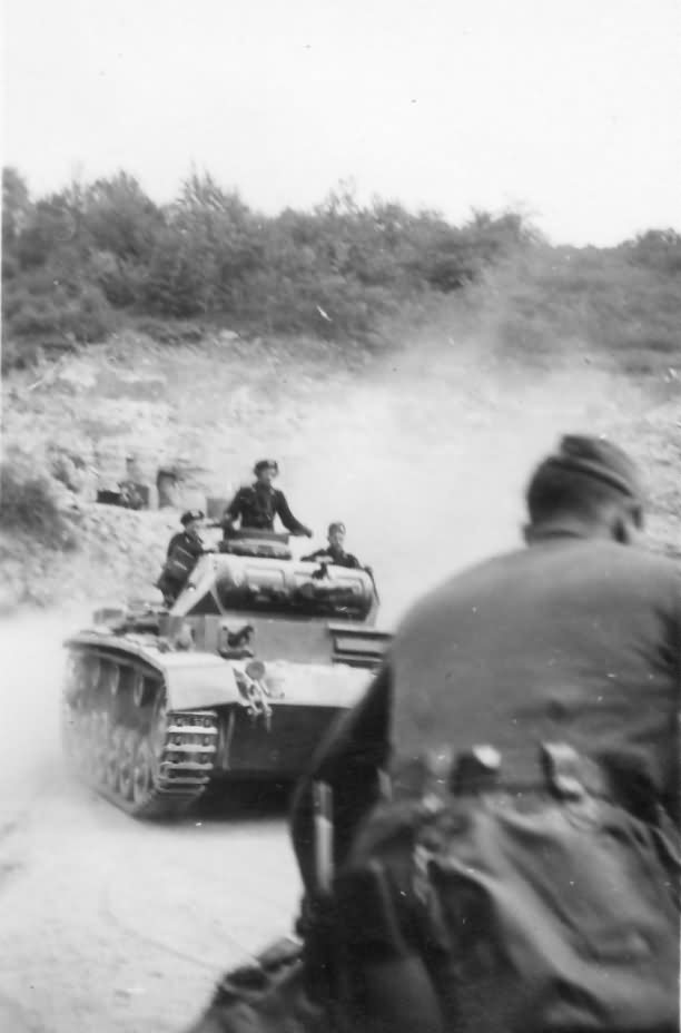 Panzer III 4 Panzer Division France 1940