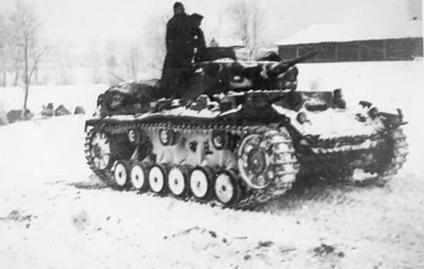 Panzer III Soviet Union Winter