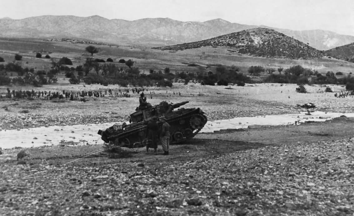 Panzer III Schwere Abteilung 501 in Tunisia DAK