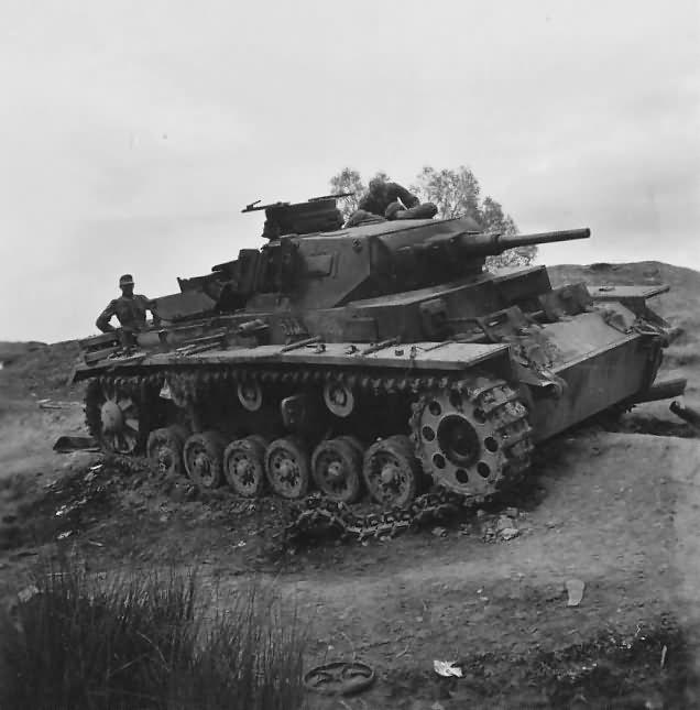 Panzer III number 513