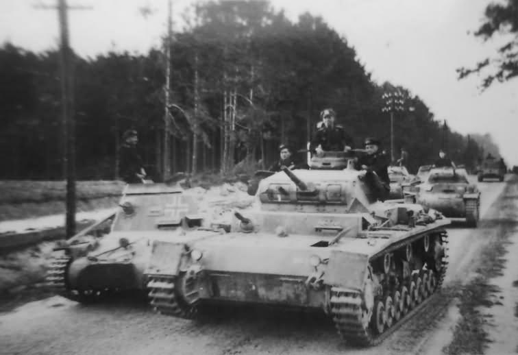 Panzer III ausf D Poland
