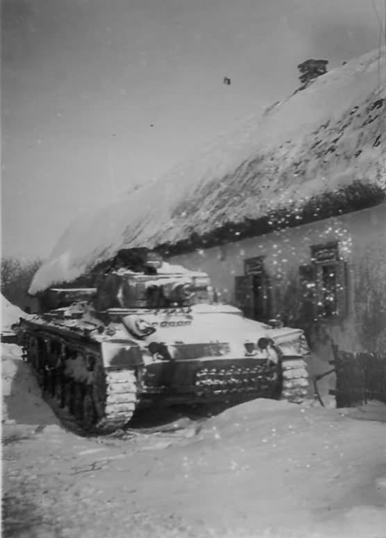 Panzer III in winter
