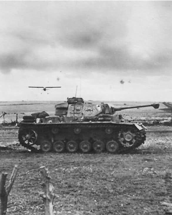 Panzer III tactical number 053