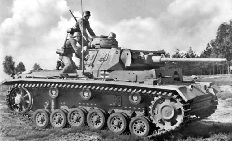 Panzer III number 201