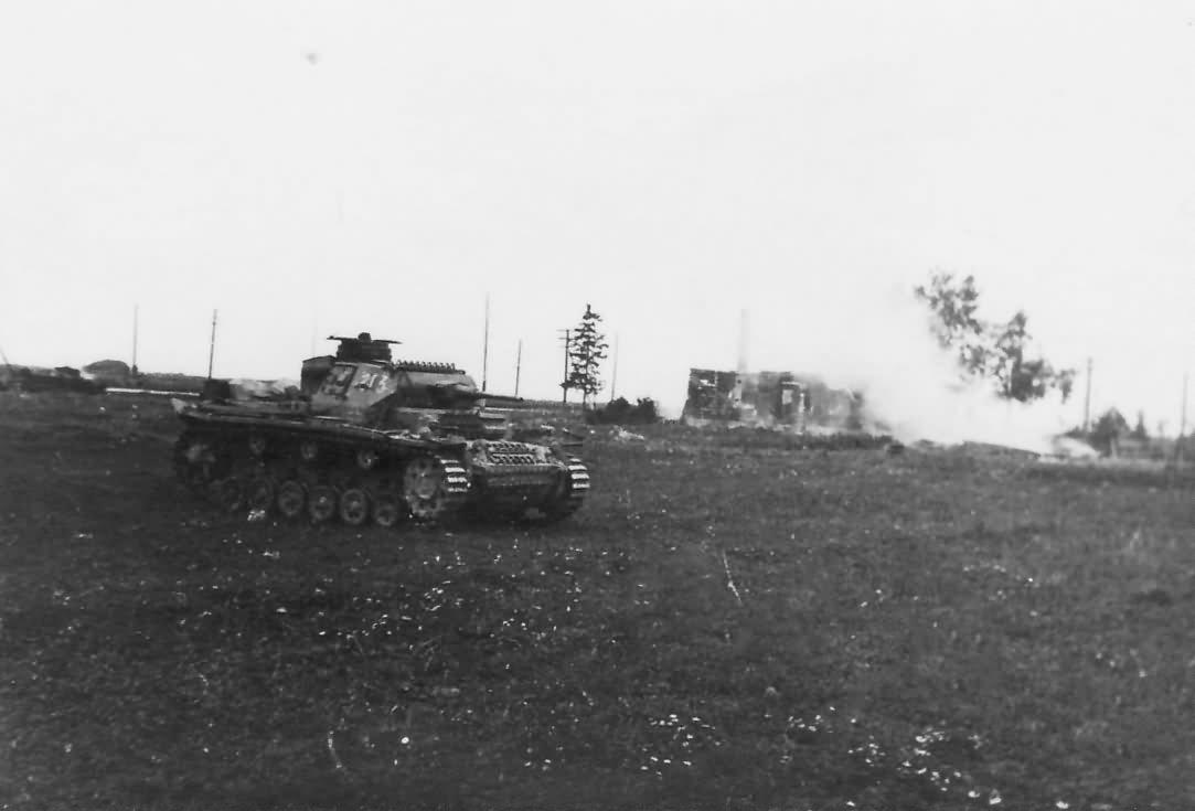 Panzer III number 213