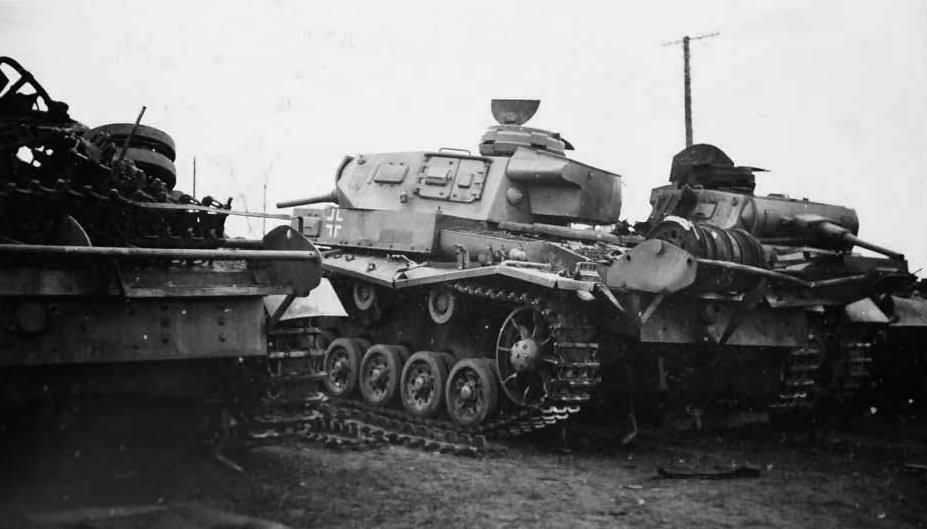 Panzerkampfwagen 3 tanks
