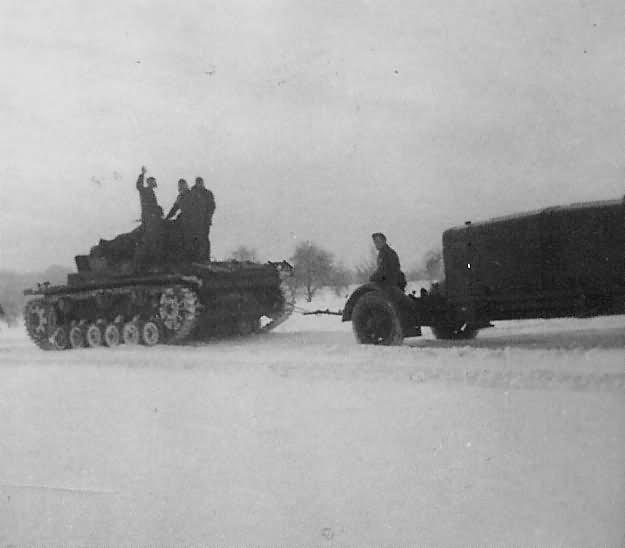 Panzerkampfwagen III winter