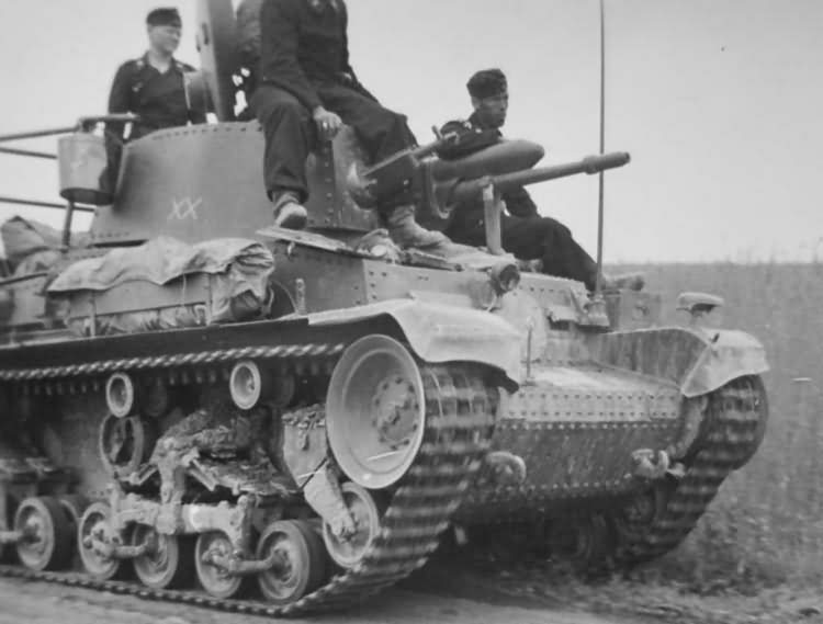 Light tank Panzer 35(t) of the 6. Panzer-Division