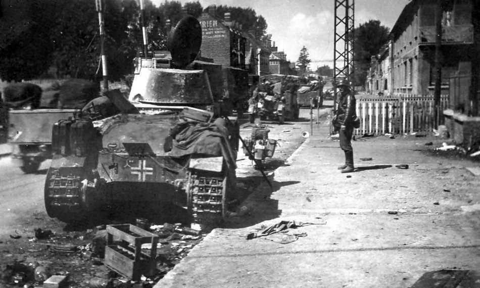 Panzer 35(t) of the 3rd Panzer Division France 1940