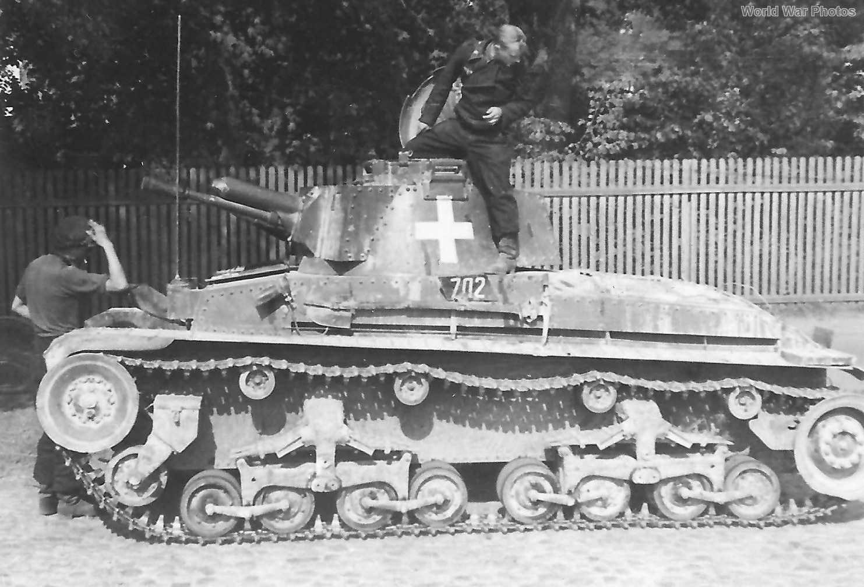 Panzer 35(t) code 702 1939