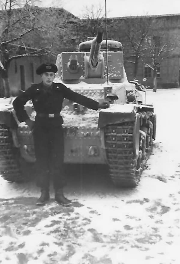 Panzer 35t and Panzermann of the 6 Panzer Division