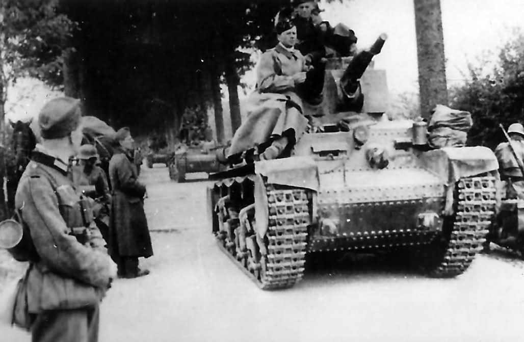 Panzer 35(t) on road