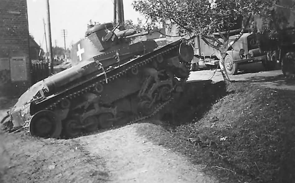 Panzer 35t tank of the 1. leichte Division Poland 1939