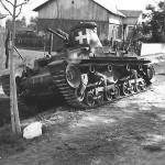 Panzer 35(t) of the 1. leichte Division – Wola Gulowska Poland 1939