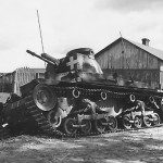 Abandoned Panzer 35(t) Wola Gulowska Poland 1939