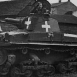 Panzer 35t number 244 – 1 leichte division