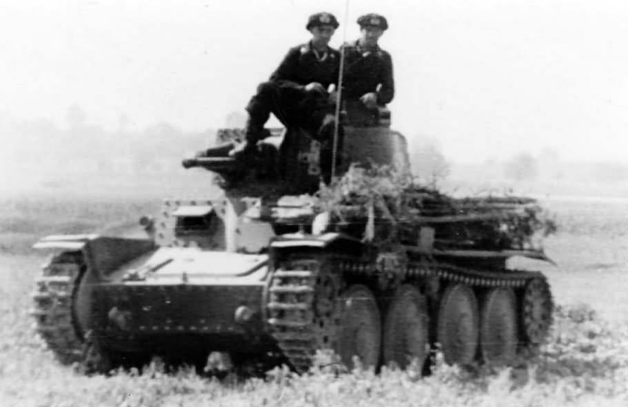 Command Panzer 38t tank 4
