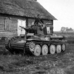 Panzer 38t during attack on the Soviet Union in 1941
