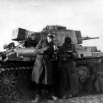 Panzer 38t number 122 with stowage rack
