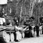 Panzer 38t tanks