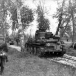 Panzer 38 (t) of the 20th Panzer Division and Infanterie Eastern Front 2