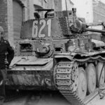 Panzer 38(t) tactical number 621