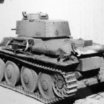 Panzer 38(t) Ausf. E-F rear view