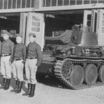 Panzer 38(t) and crew