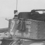Panzer 38t tactical number 225 turret, Eastern Front