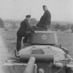 Panzer 38t rear view