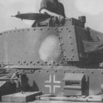 Panzer 38t tank commander