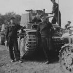 Panzer 38t tank crew