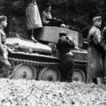 Panzerbefehlswagen 38(t) code B03 1941