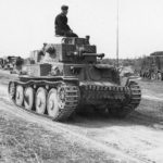 PzBfWg 38 (t) tank of 12th Panzer Division Eastern Front