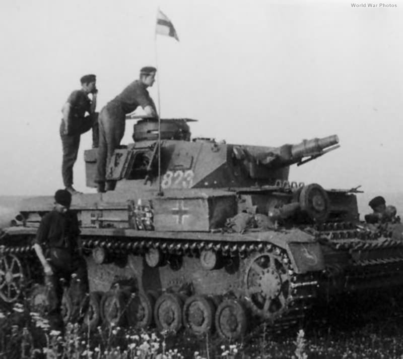 Panzer IV 823 of the 24. Panzer-Division