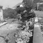 Body German soldier by Knocked Out Panzer IV in Sicily